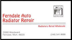 Ferndale Auto Radiator Repair